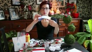 Vanocni jmenovky DIY - kreativni matka / Christmas name tags DIY