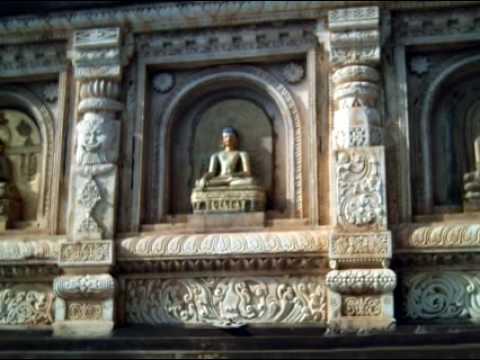 Mahabodhi Main Temple - Place where Siddhartha Gautama, the Buddha, attained enlightenment.
