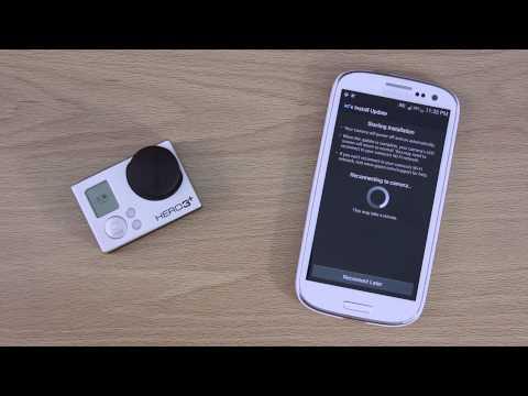 Updating the GoPro HERO 3+ Black Edition Software Using the Smartphone App Walkthrough