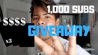1,000 Subscriber GIVEAWAY! (EASY TO ENTER)