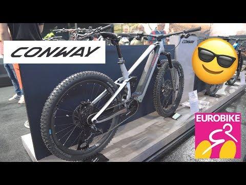 New CONWAY Bikes 2020 (Xyron, WME) - Eurobike 2019 [4K]
