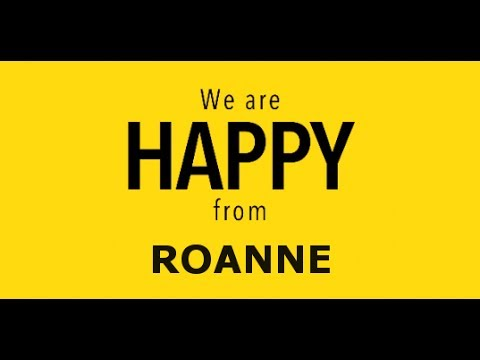 Vidéo WE ARE HAPPY FROM ROANNE