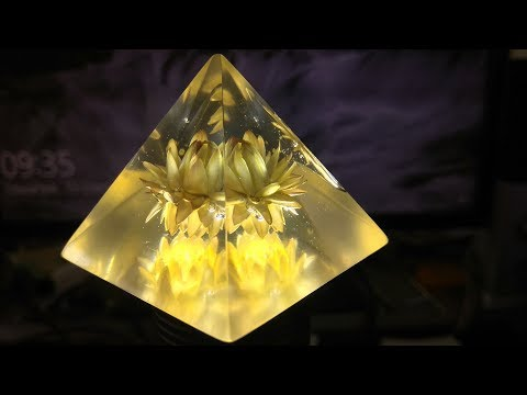 Żywica epoksydowa - How to make Resin decorations - Pyramid Resin