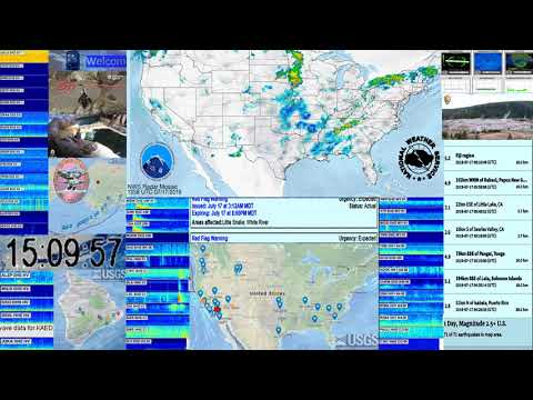 5 4 Earthquake 227km W of Bandon, Oregon 2019-07-17 14:59:59 (UTC) 10 0 km  Depth