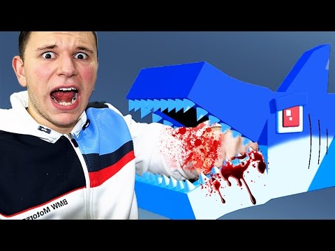 JAWS SHARK ATTACK! | Minecraft Sandbox Fun w/ Friends