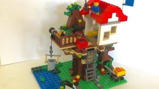 Como construir uma casa na árvore de Lego