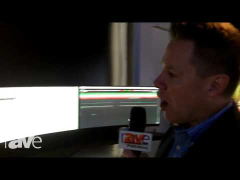 """NYDSW: NEC Display Exhibits 34"""" Curved Solution Display"""