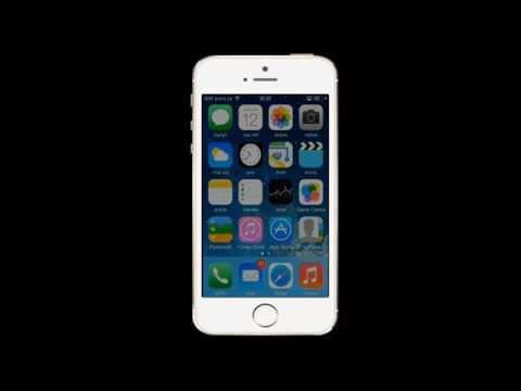iPhone 5S  מחיקת איש קשר