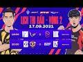 V GAMING vs BOX GAMING   CERBERUS ESPORTS vs B2F GAMING - Vòng 2 ĐTDV mùa Đông 2021 (17/09)