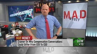 CEO pay not to blame for income inequality in America says Jim Cramer