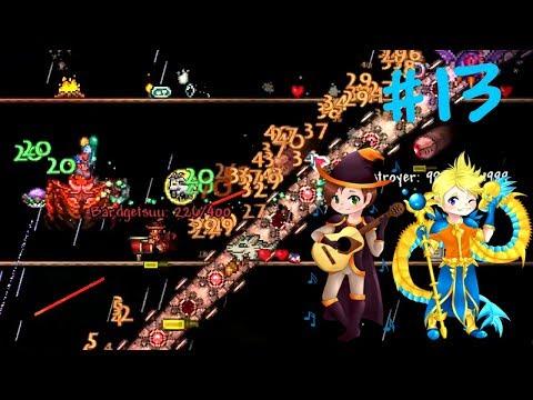 NIE TA LIGA - Zagrajmy w Terraria (Summoner Class z Mangetsuu) #13
