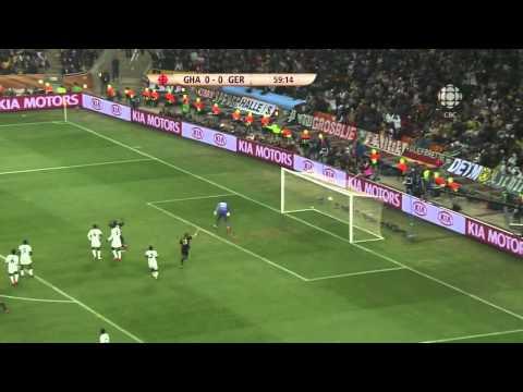 Mesut Ozil Golazo - Germany v Ghana 2010 World Cup