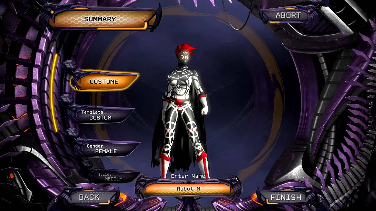 DCUO - Character Creation - YouTube