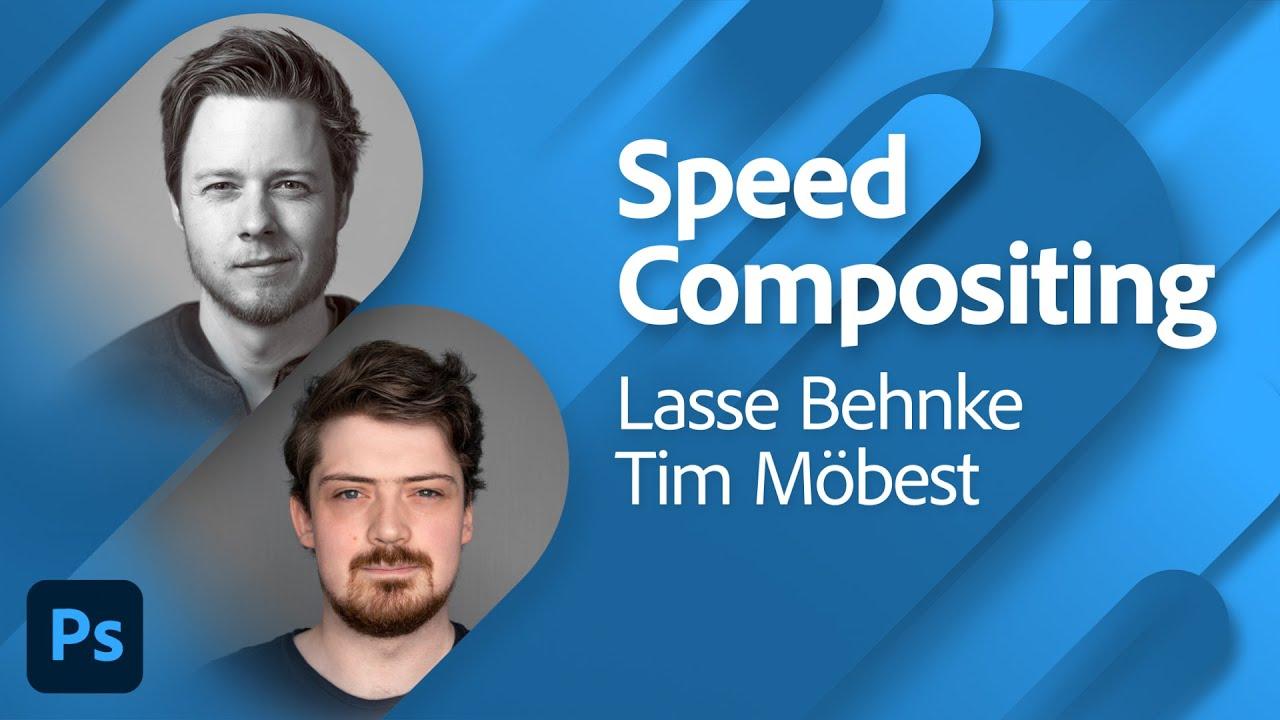 Speed Compositing mit Lasse Behnke und Tim Möbest |Adobe Live