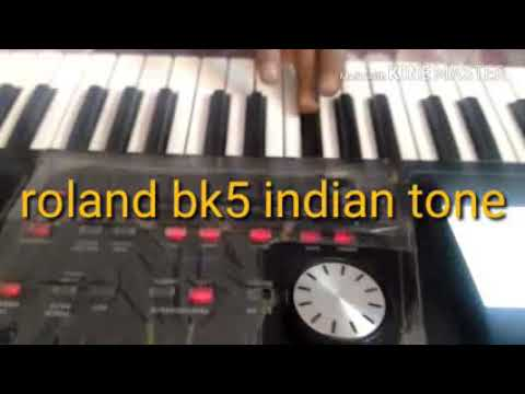 Roland bk5 indian tone  by sawan