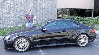 Mercedes CLK DTM - это суперкар за $450 000, о котором вы никогда не слышали