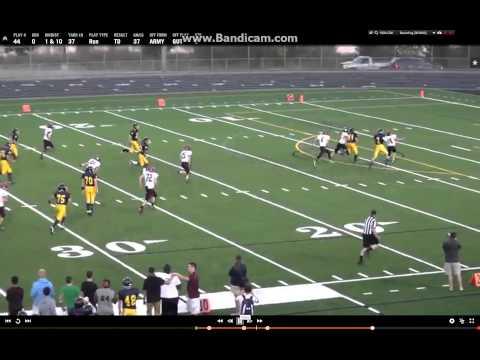 Dillon Jensen Football TD Run