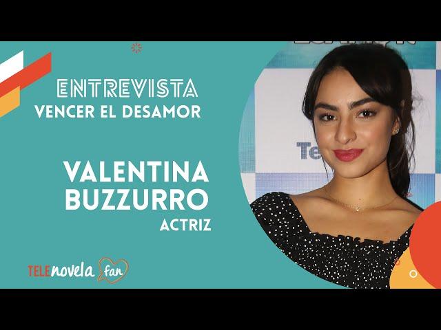 Valentina Buzzuro en la Telenovela 'Vencer el Desamor'
