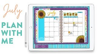 Digital Plan With Me: July, 2018