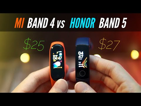 Mi Band 4 vs Honor Band 5 - Ultimate Budget Smartband SHOWDOWN!
