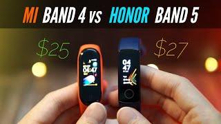 Mi Band 4 vs Honor Band 5 - Ultimate Budget Smartband SHOWDOWN!