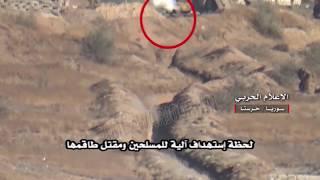 Сирийская армия подбила Т-72 боевиков