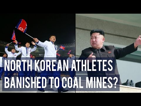 North Korean athletes may be banished to coal mines for not achieving medal target in Rio 2016