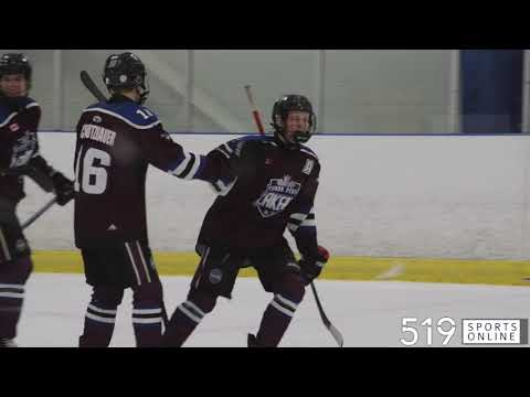 Minor Midget - Cambridge Hawks vs Waterloo Wolves from YouTube · Duration:  3 minutes 54 seconds