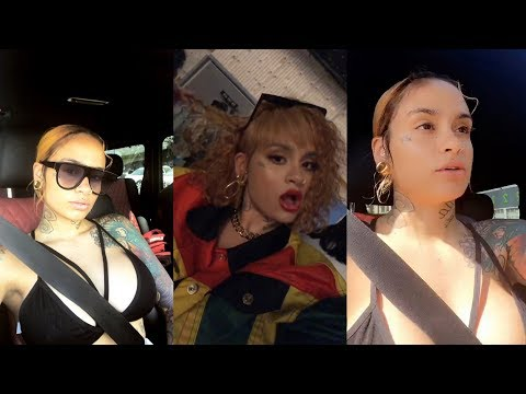 Kehlani  Snapchat Story  10 April 2018