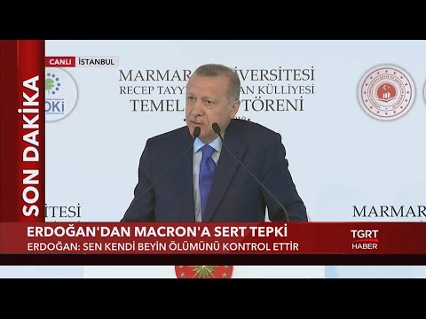 Cumhurbaşkanı Erdoğan'dan Macron'a: 'Türkiye'yi NATO'dan Çıkarmak Senin Haddine Mi?'