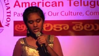 Satya Yamini sings Bahubali title song, Shreya sings Gopikamma at ATA Dinner in Ruchi Palace,