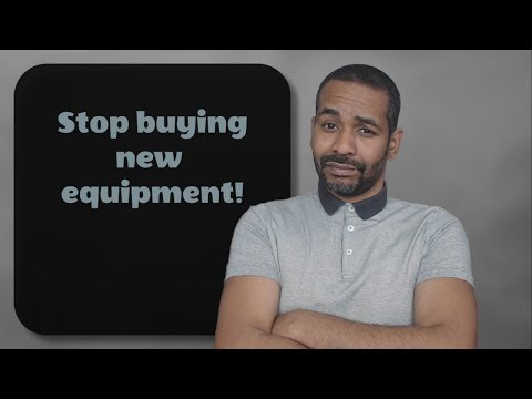 Stop Buying New Music Equipment!