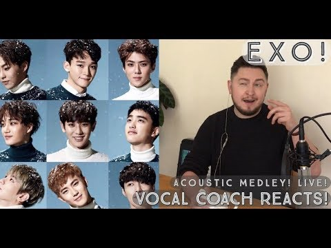 Vocal Coach Reacts! EXO(엑소)- Acoustic Session + Lady Luck +(시선둘,시선하나)What If..
