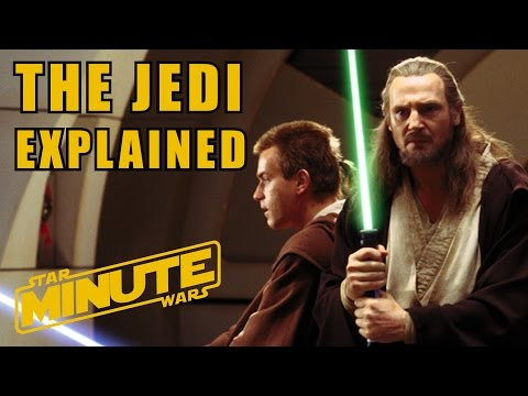 The Jedi Explained (Canon) - Star Wars Minute Basics