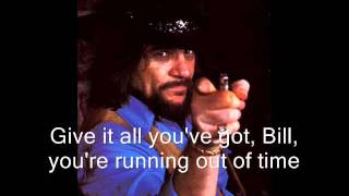 Waylon Jennings - Sing The Girls a Song, Bill