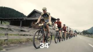 Great 60 seconds clip of 2016 BIKE Transalp stage 1