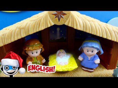 Little People Nativity Scene