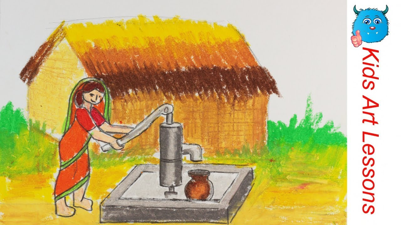 How to draw water from the well to the house Water supply from the well 52