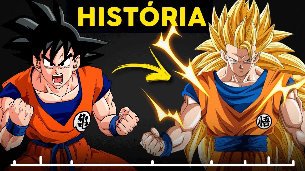 História Completa: Dragon Ball // Clássico ao Z