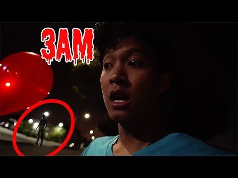 3AM Red Balloon Challenge!!! DO NOT TRY!!!