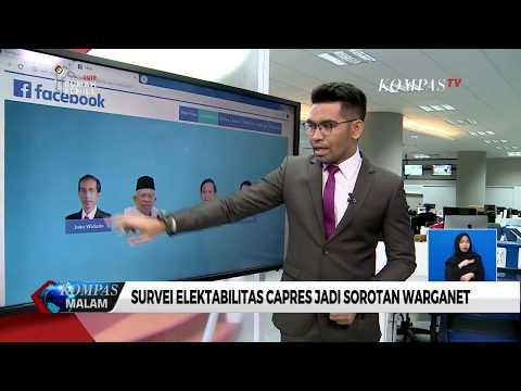 Survei Elektabilitas Capres Jadi Sorotan Warganet