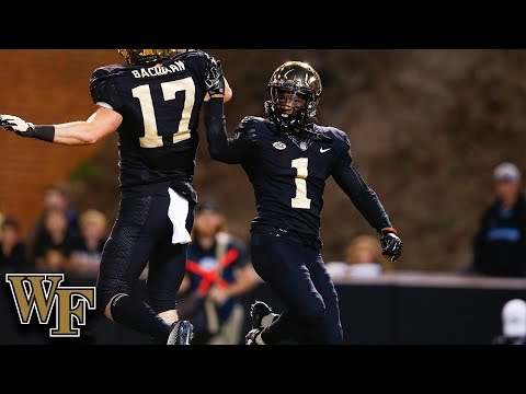 Wake Forest WR Tabari Hines Goes Off vs. NC State
