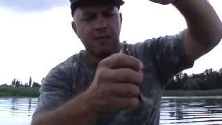 Ловля карася на поплавочную удочку с лодки. Фильм первый..