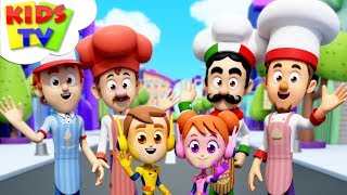 Çocuklar tarafından Muffin Man   kendinize yer arayın Çizgi film   Şarkılar Ve Tekerlemeler Tv