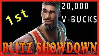 Fortnite: BLITZ SHOWDOWN sur SOLO - 1ST PLACE GETS 20 000 V-BUCKS // 172 SOLO WINS // 3000 KILLS