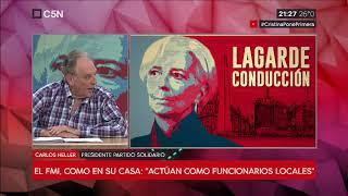 19-11-2018 - Carlos Heller en C5N - M1, con Darío Villarruel - Hay otro camino