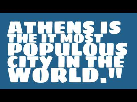What is the population of Athens?