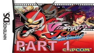 Viewtiful Joe : Double Trouble (NDS) Walkthrough Part 1 With Commentary