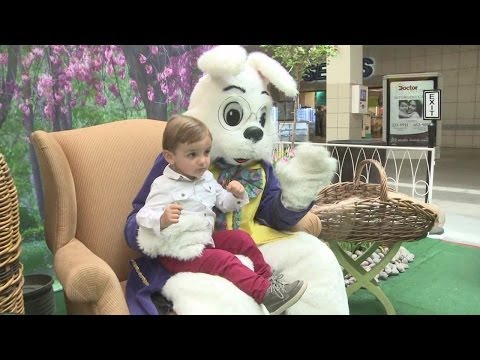 Easter Bunny At Coronado Mall
