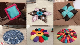9 DIY Doormat & Cushion Ideas !!! Home Useful.... Best Out of Waste